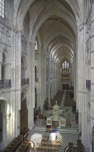 Noyon Cathedral, location of caveau phonocamptique. Photo: Author.