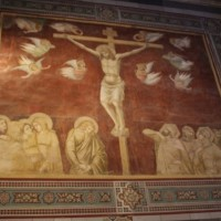 Pietro Lorenzetti, The Crucifixion, San Francesco, Siena (Photo: Imogen Tedbury).