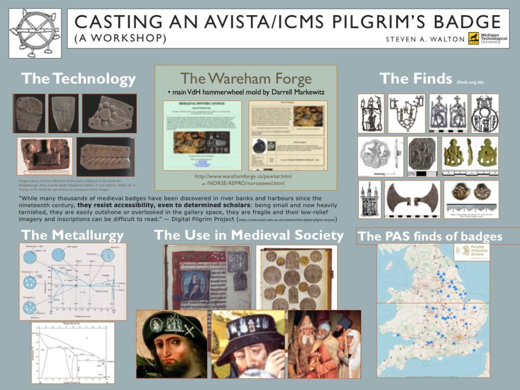Pilgrim Badge Casting Demo Poster
